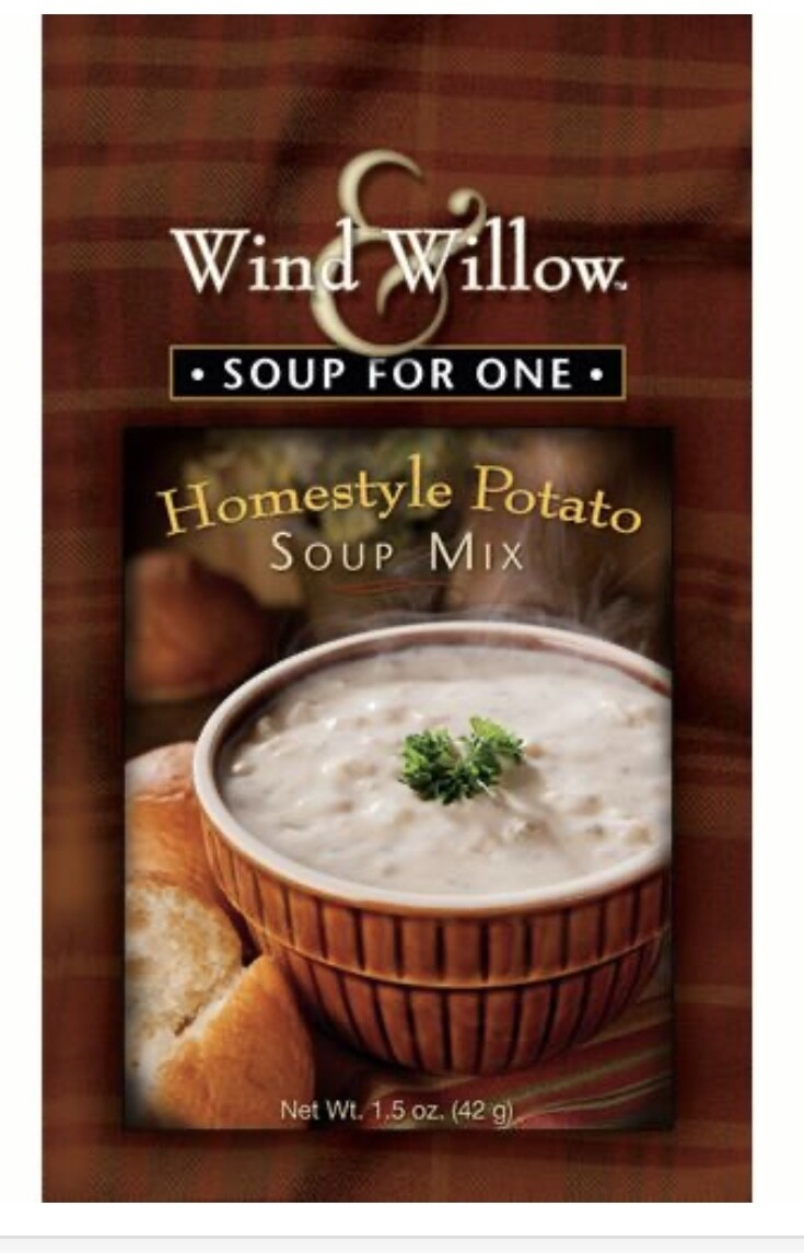 WW soup for one homestyle potato soup