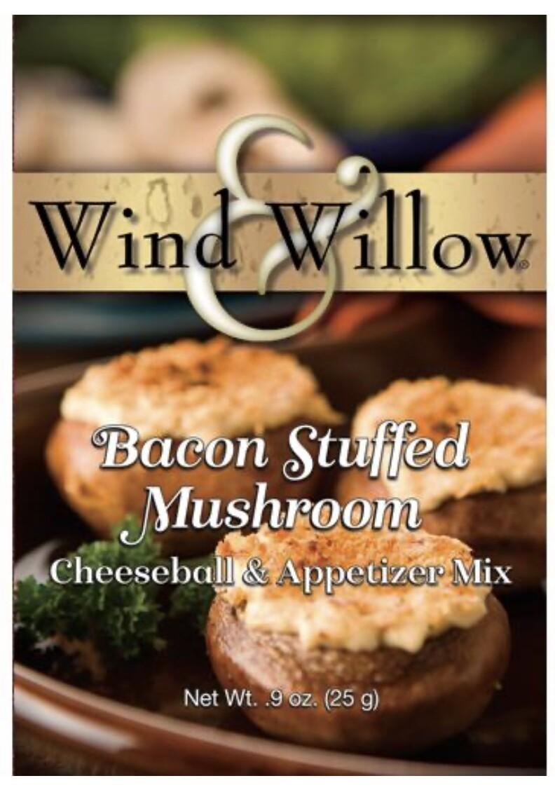 WW bacon stuffed mushroom cheeseball