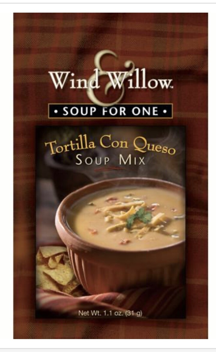 WW soup for one Tortilla Con Queso