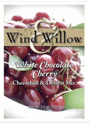 WW white chocolate cherry cheeseball