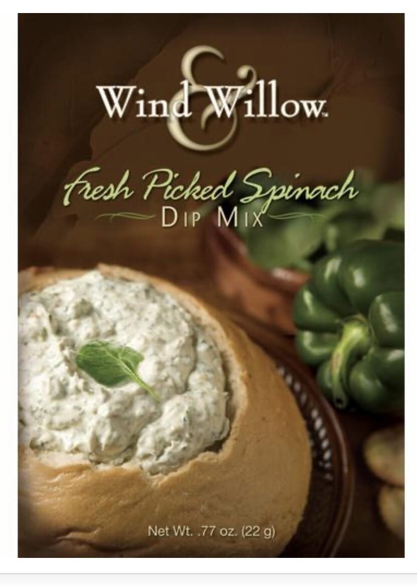 WW Fresh picked spinach dip mix