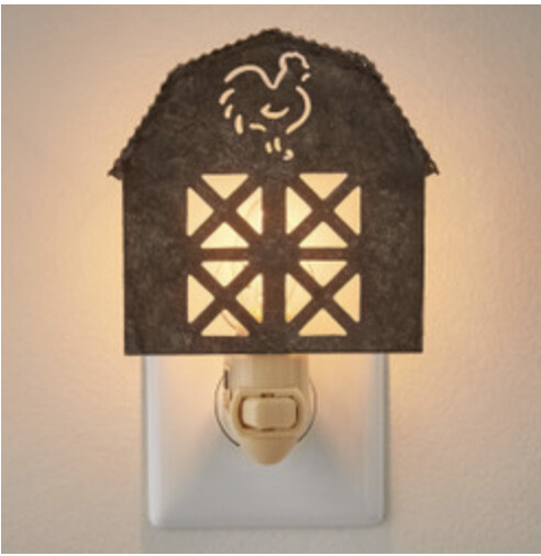 Park Designs Galvanized barn night light