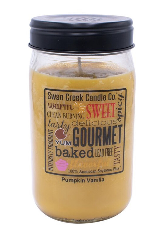 Swan Creek Pumpkin Vanilla Pantry Jar Large