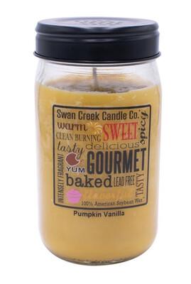 Swan Creek Pumpkin Vanilla Pantry Jar Large