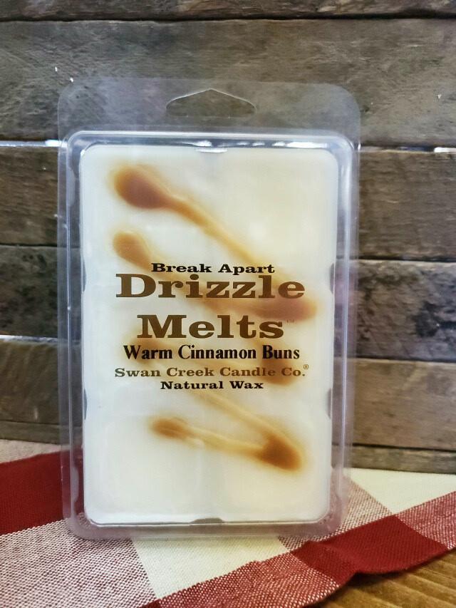 Swan Creek Drizzle Melts Warm Cinnamon bun