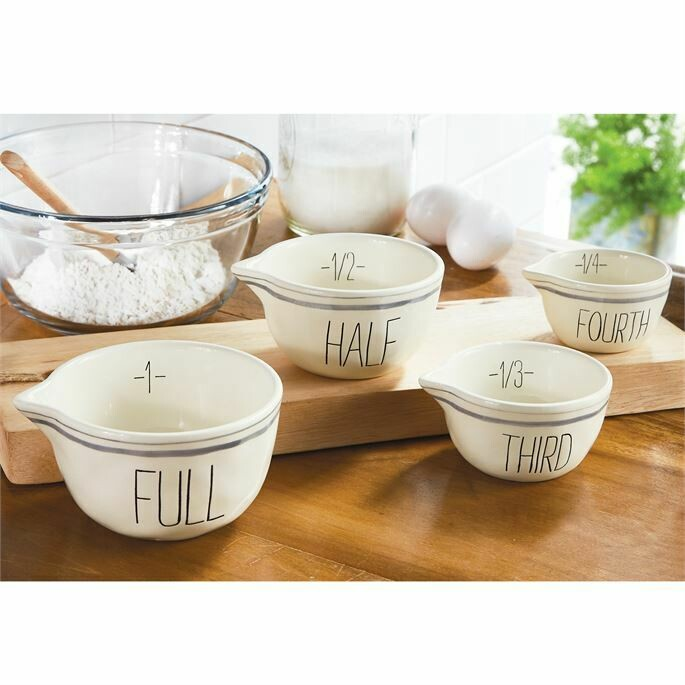 Mudpie Bistro Measuring Bowl Set