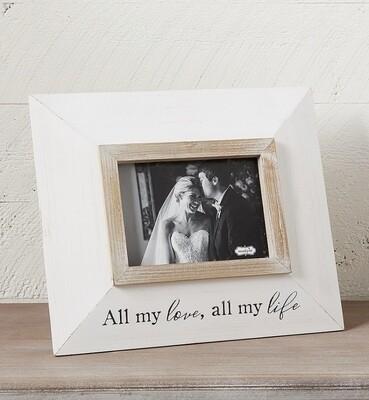 Mudpie All My Love Frame