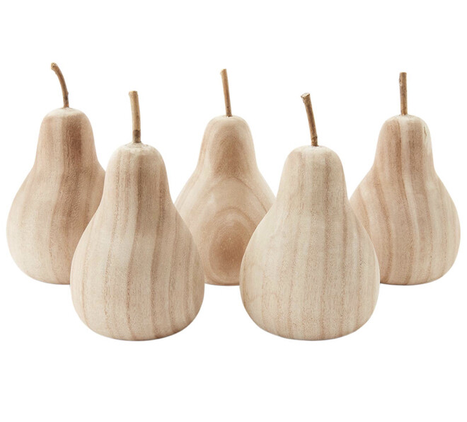 Mudpie Paulownia Wood Pear