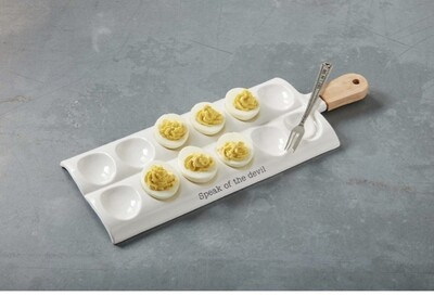 Mudpie Deviled Egg Paddle Tray