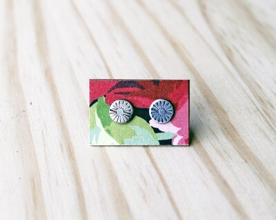 Sun Post Earrings
