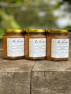 Spiced Nectarine Preserves