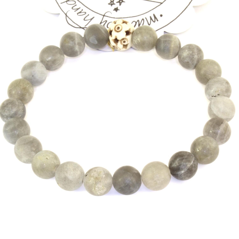 Power Bead Bracelet - Labradorite #PBLAB