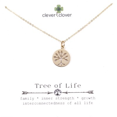 CCN912 Bronze Cutout Tree of Life Circle