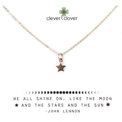 CCN862 Bronze Small Star Necklace