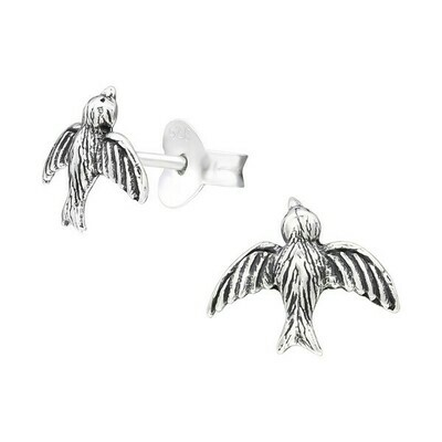 P29-29 Sterling Silver Bird Posts