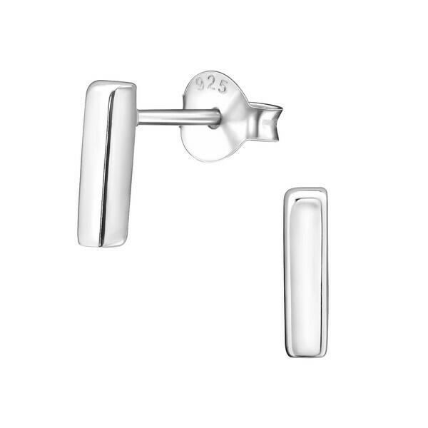 P37-44 Sterling Silver Short Bar Posts