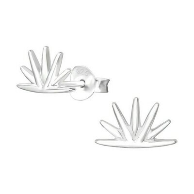 P38-47 Sterling Silver Spikes Posts