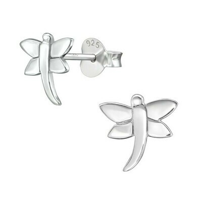P39-47 Sterling Silver Dragonfly Posts