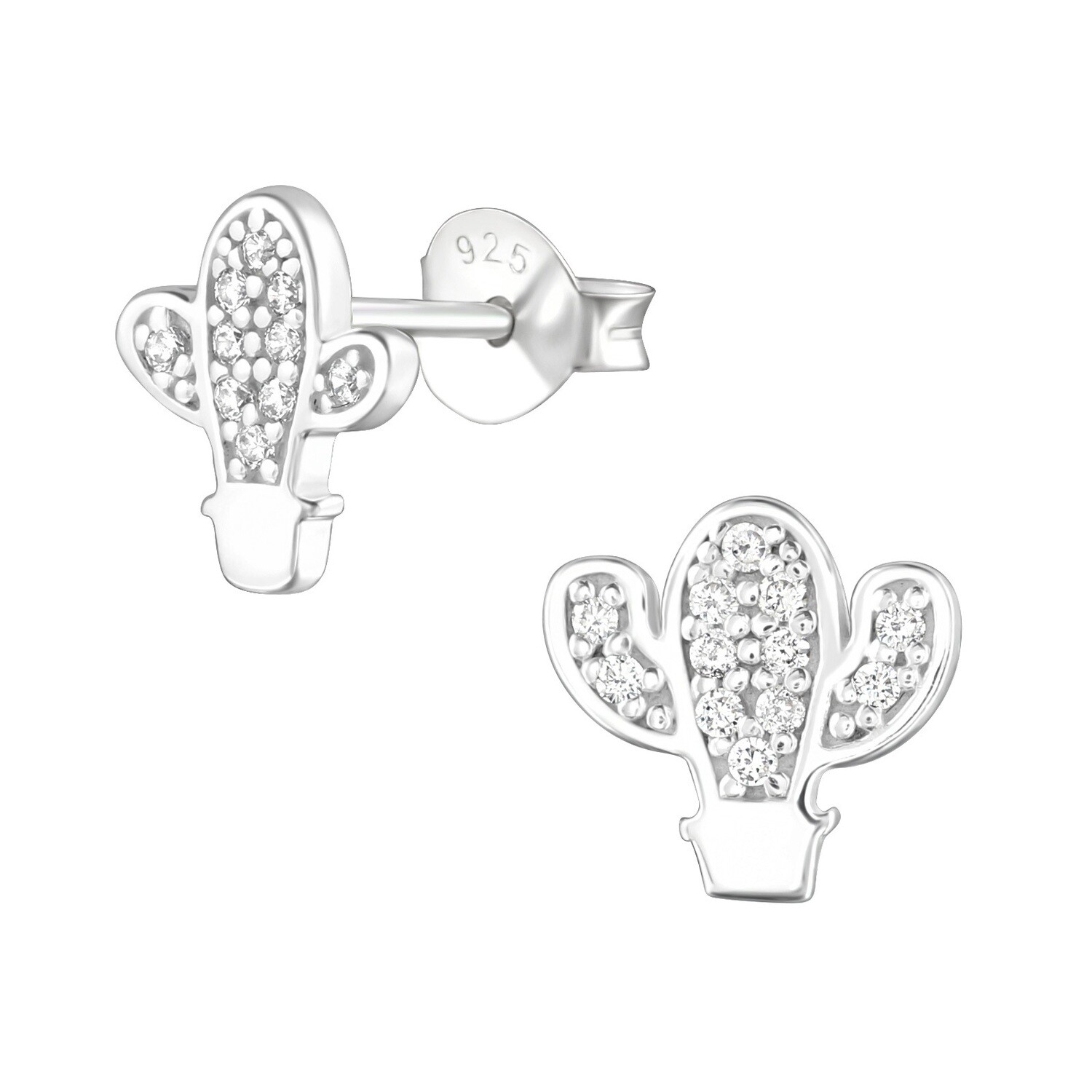 P36-82 Sterling Silver Cactus Posts