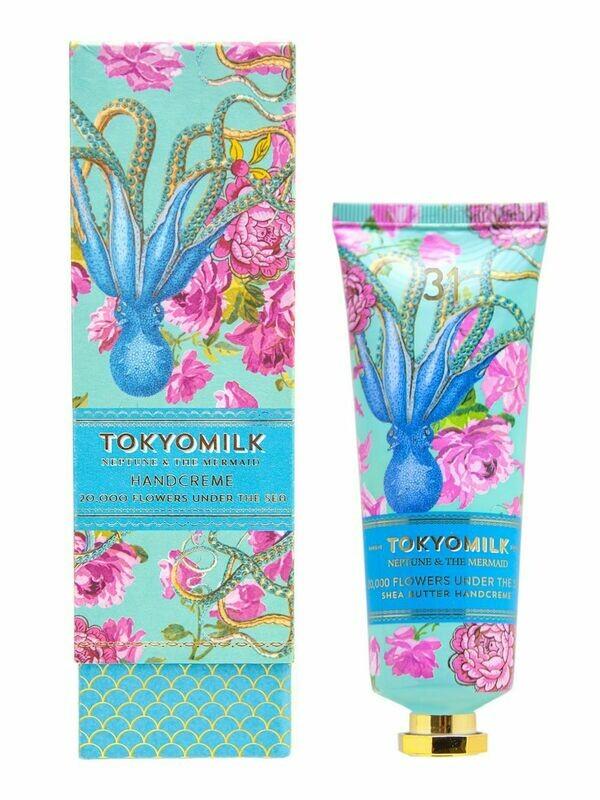20,000 Flowers Under the Sea Hand Cream - Tokyo Milk Neptune + the Mermaid