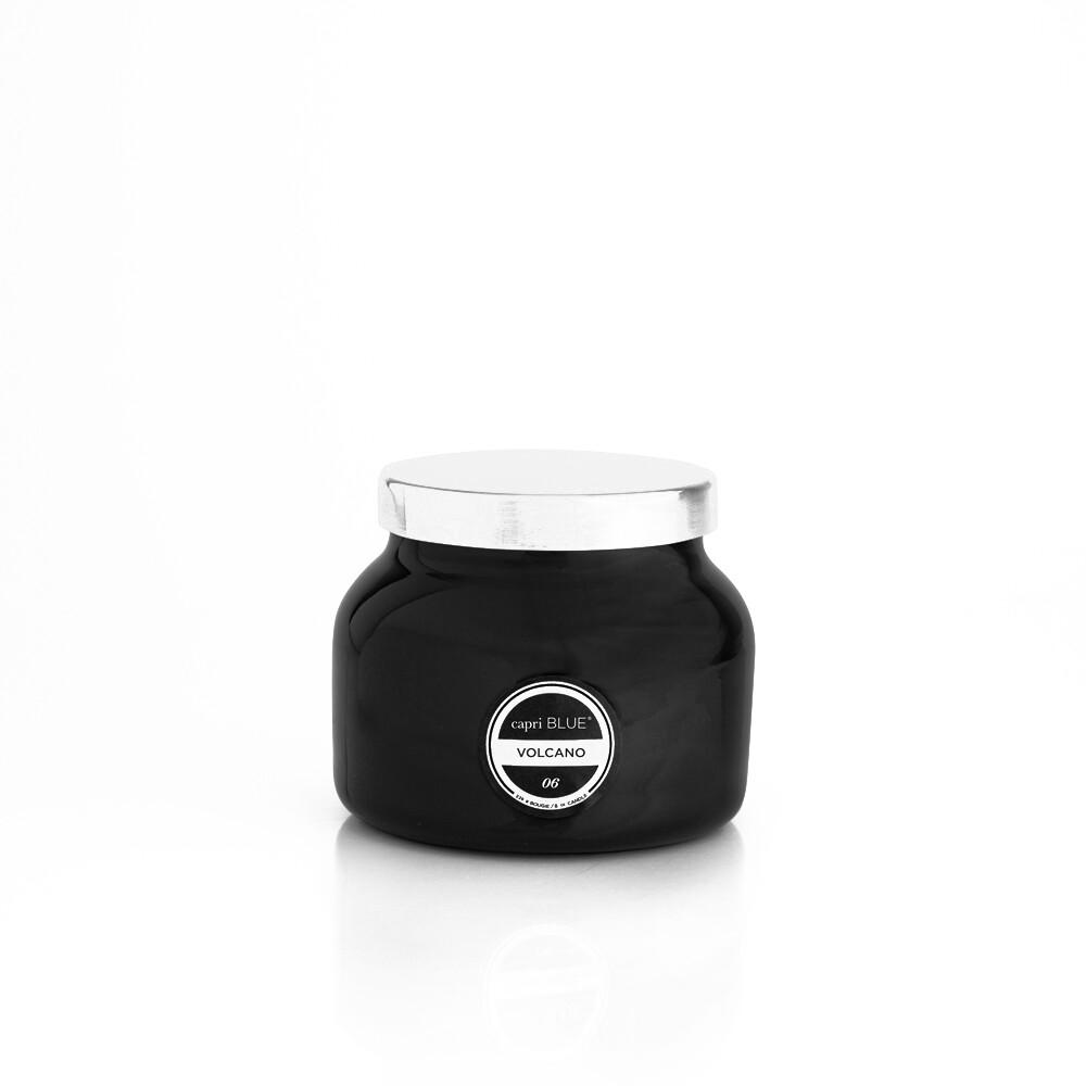 Volcano Candle -Black- Capri Blue Petite Jar 8oz