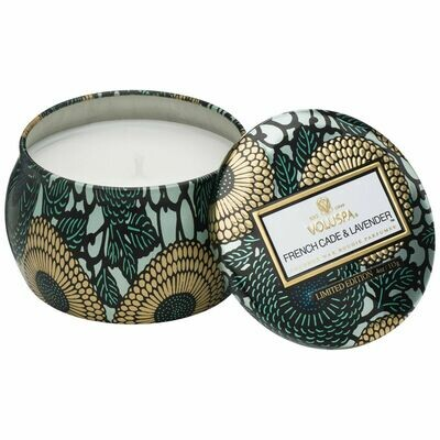 French Cade + Lavender Candle - Voluspa Petite Tin Candle