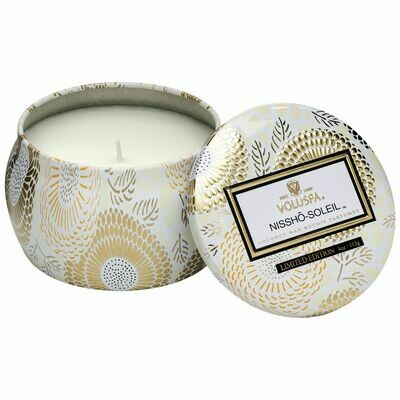 Nissho Soleil Candle - Voluspa Petite Tin Candle