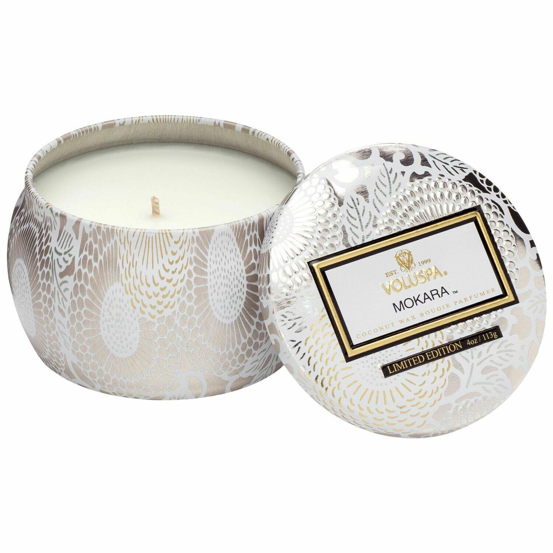 Mokara Candle - Voluspa Petite Tin Candle