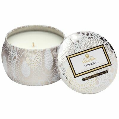 Mokara Candle - Voluspa Petite Tin Candle
