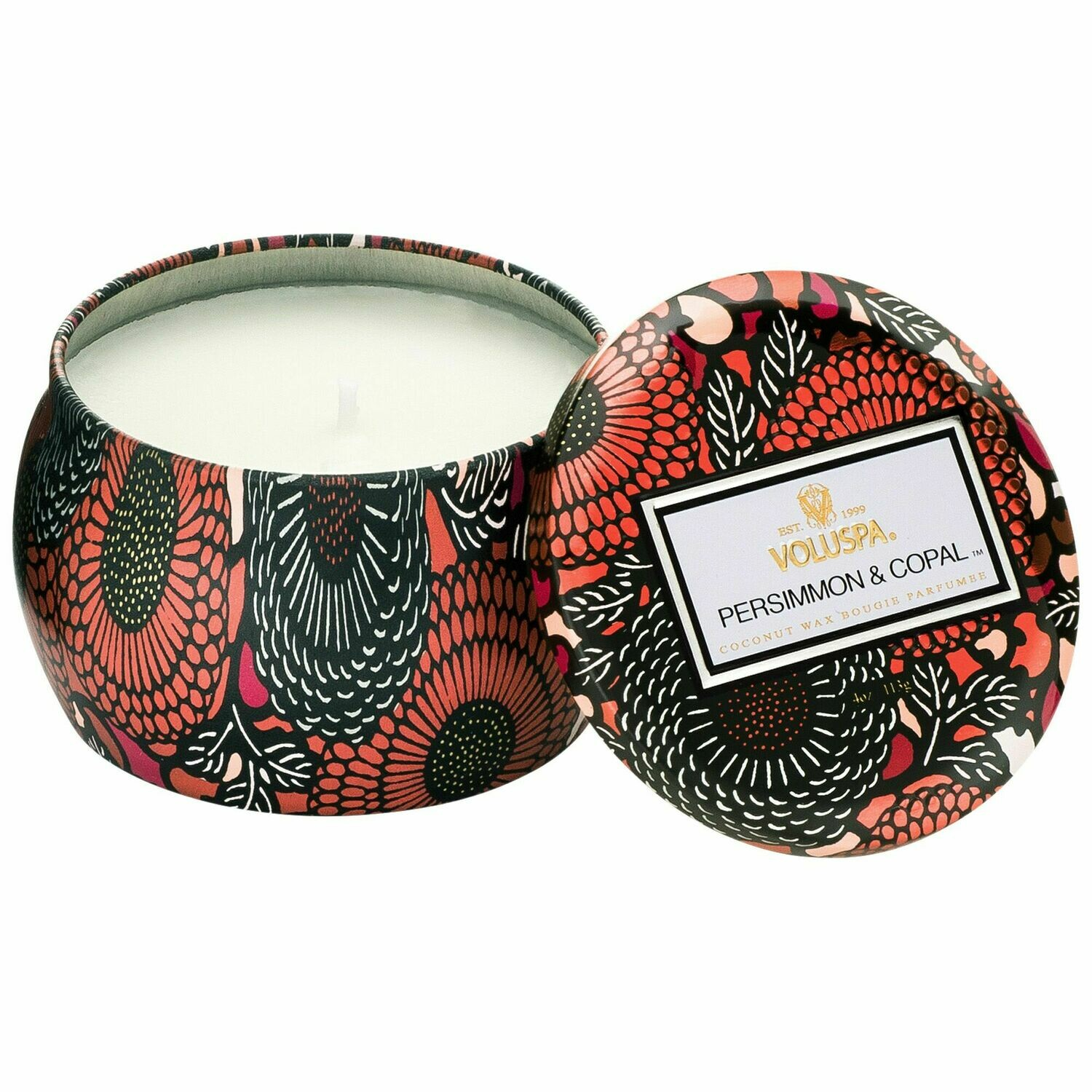 Persimmon + Copal Candle - Voluspa Petite Tin Candle