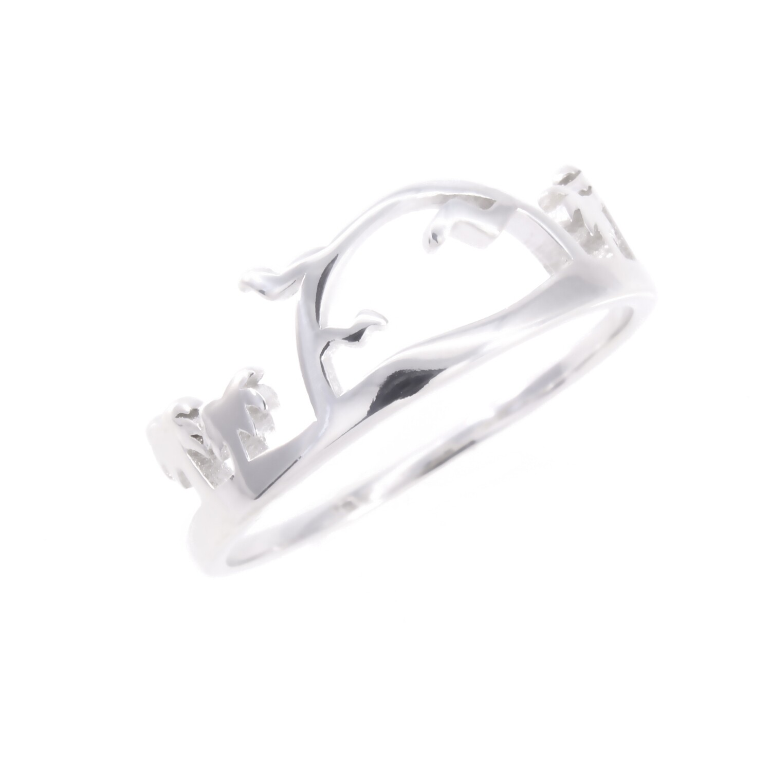 RP3664 Sterling Silver Sunset Ring