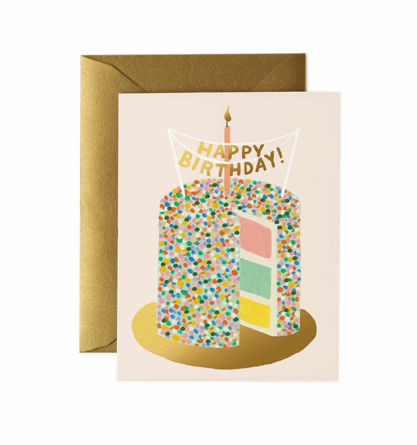 Layer Cake Birthday Card- Rifle Paper Co. RPC102