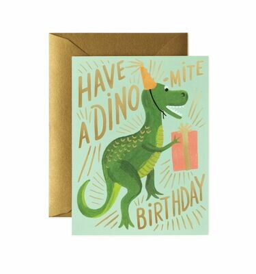 Dino-mite Birthday Card - Rifle Paper Co. RPC104