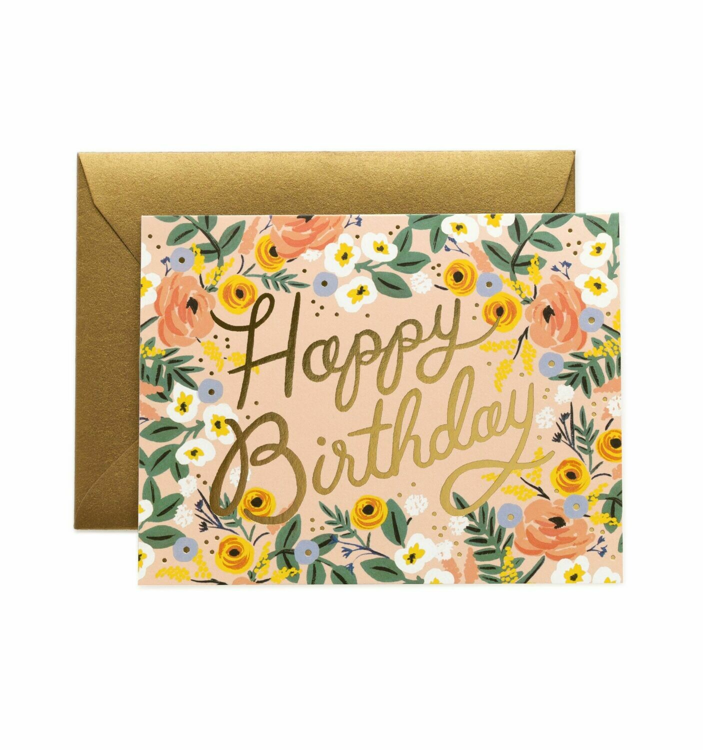 Rose Birthday Card - Rifle Paper Co. RPC105