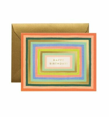 Disco Birthday Card  - Rifle Paper Co. RPC106