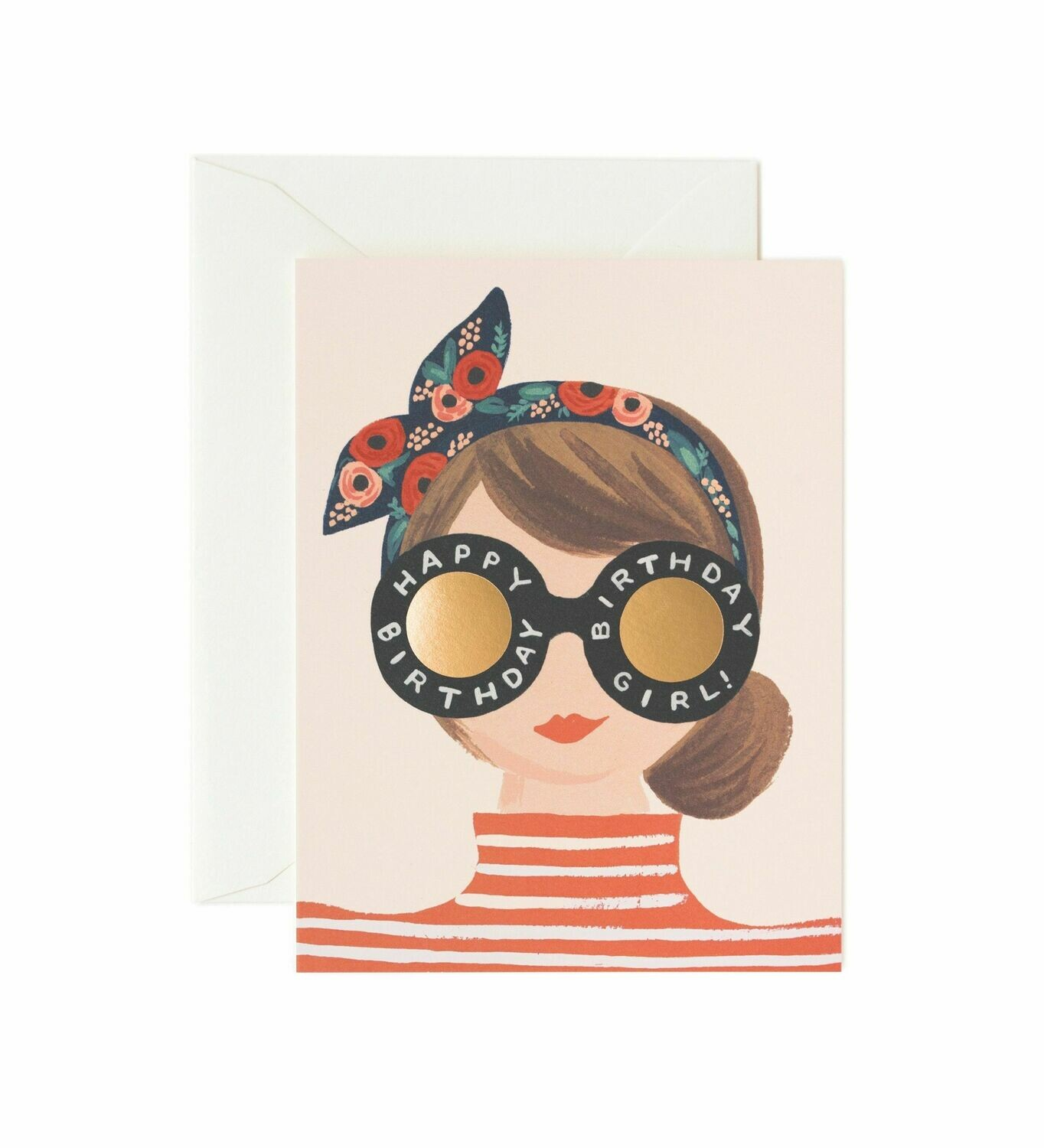 Birthday Girl Card - Rifle Paper Co. RPC109