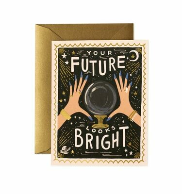 Your Future Looks Bright Card - Rifle Paper Co. RPC116