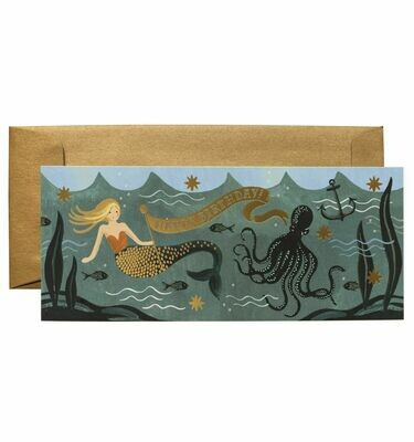 Under the Sea #10 Birthday Card - Rifle Paper Co. RPC114