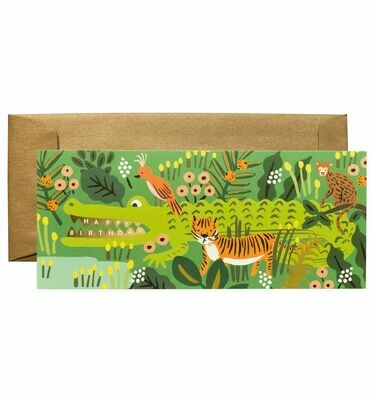 Alligator #10 Birthday Card - Rifle Paper Co. RPC113