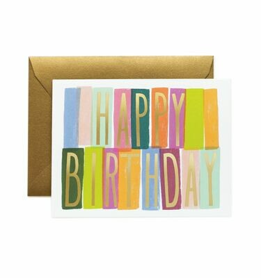 Merida Birthday Card - Rifle Paper Co. RPC117