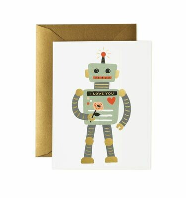 Love Robot Card - Rifle Paper Co. RPC115