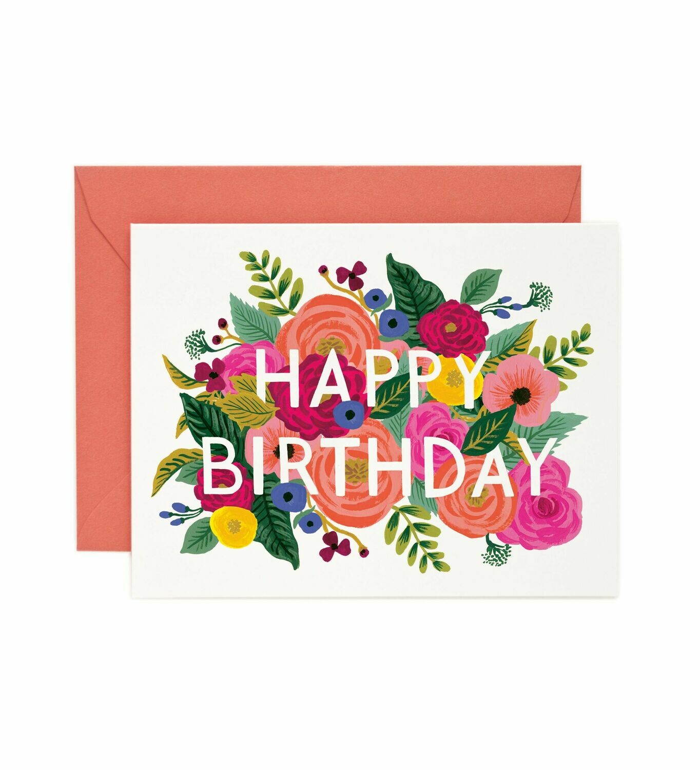 Juliet Rose Birthday Card - Rifle Paper Co. RPC118