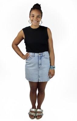 Billabong Denim Mini Skirt BBL-SEW