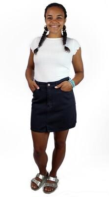 Billabong Denim Mini Skirt BBL-BPB