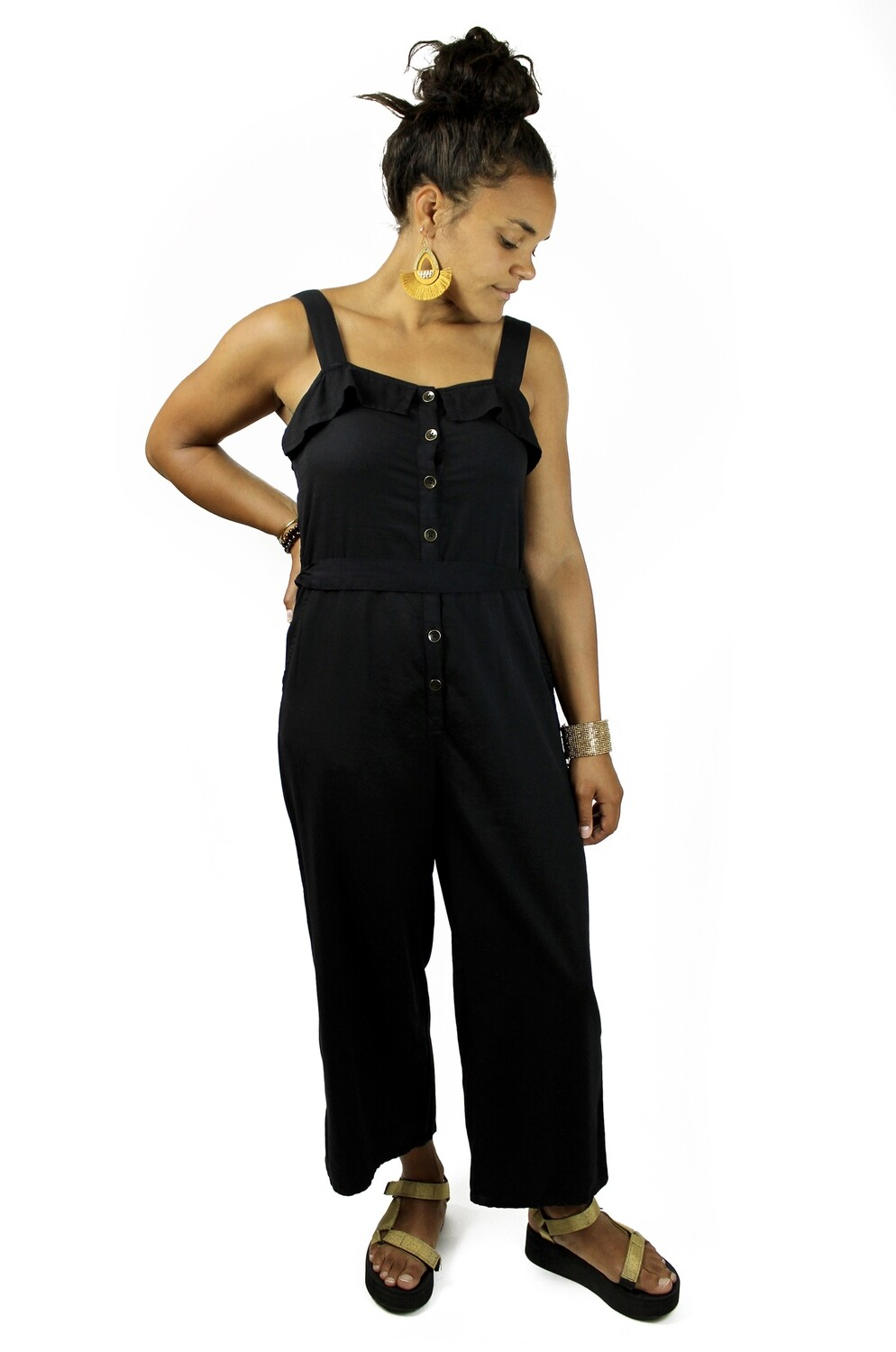 Billabong Sandy Toes Jumpsuit BSA-BLK