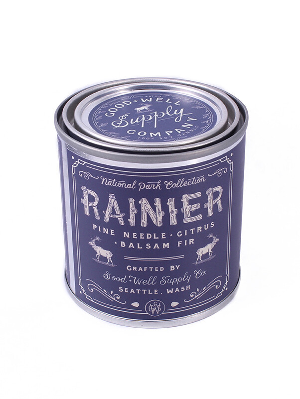 Ranier National Park Candle