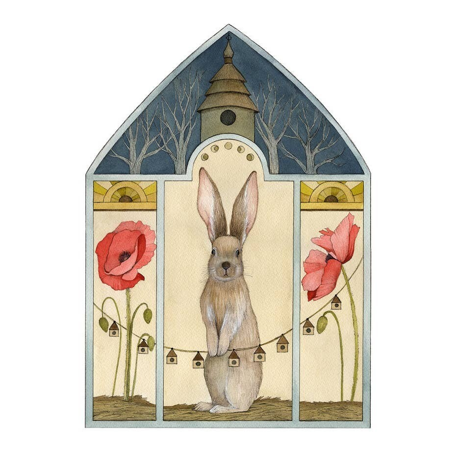 PH7 A Poppy Home Greeting Card