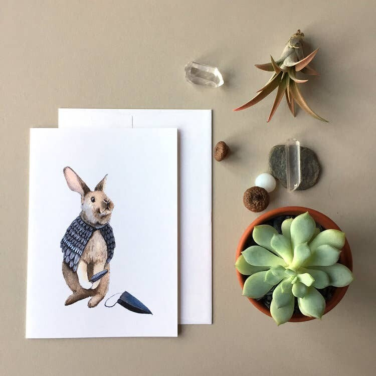 PH9 Rabbit Disguised Greeting Card