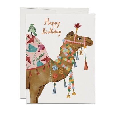 Camel Happy Birthday Card - RC2