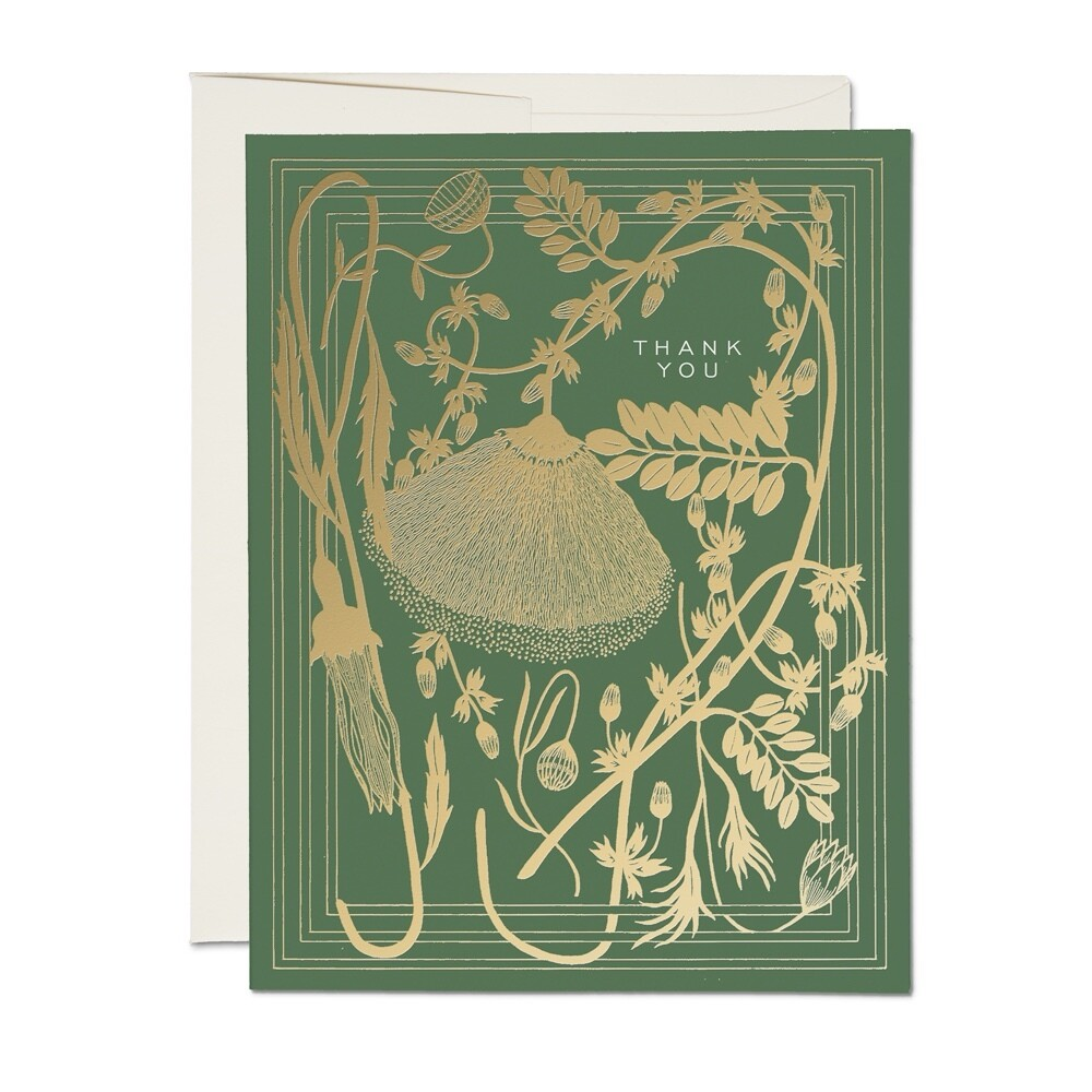 Sage Thank You Card - RC35